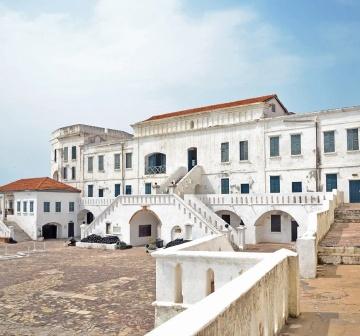 Elmina/ Cape Coast Enslavement Castle Dungeons Ghana, Africa